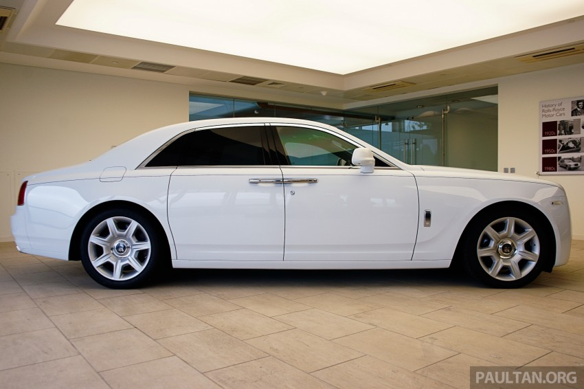 Rolls-Royce Ghost Series II gets unveiled in Malaysia Image #293681