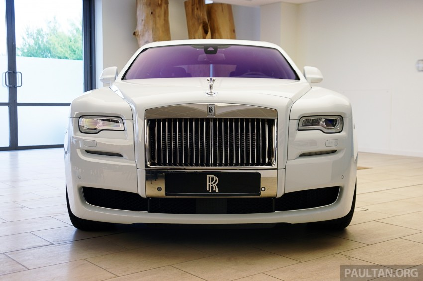 Rolls-Royce Ghost Series II gets unveiled in Malaysia Image #293682