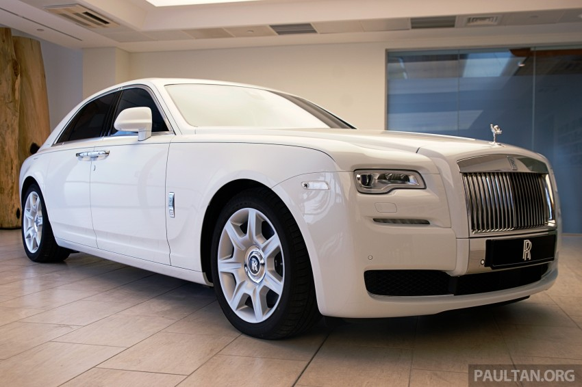 Rolls-Royce Ghost Series II gets unveiled in Malaysia Image #293665