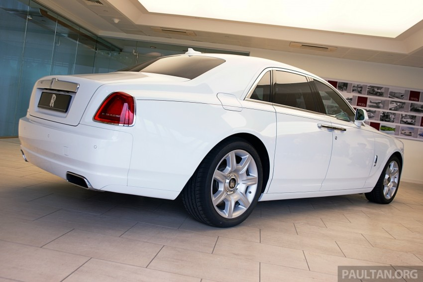 Rolls-Royce Ghost Series II gets unveiled in Malaysia Image #293668