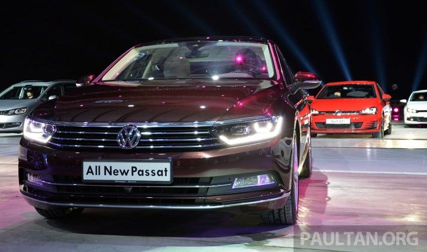 GALLERY: Volkswagen Passat B8 shown at Das Event Image #295085