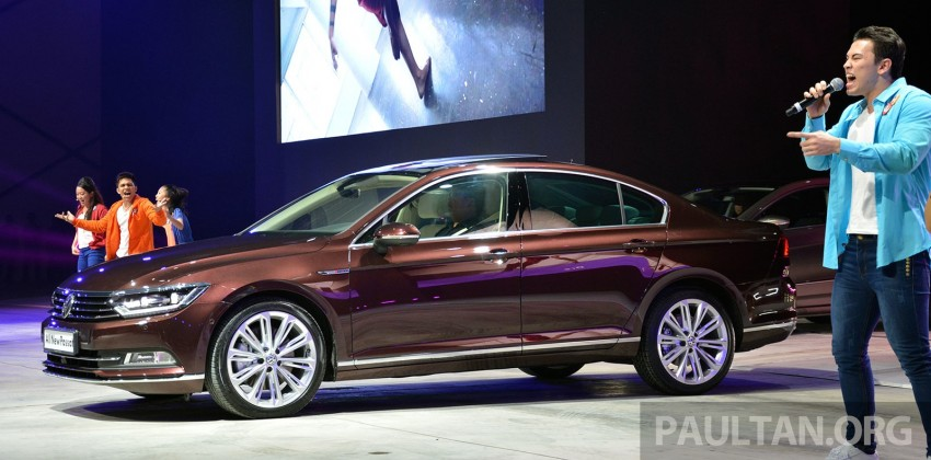 GALLERY: Volkswagen Passat B8 shown at Das Event Image #295086