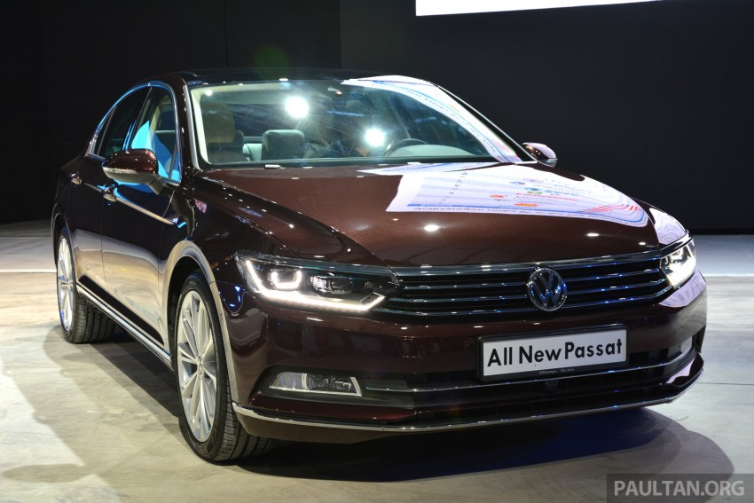 GALLERY: Volkswagen Passat B8 shown at Das Event Image #294881