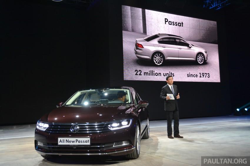 GALLERY: Volkswagen Passat B8 shown at Das Event Image #294882