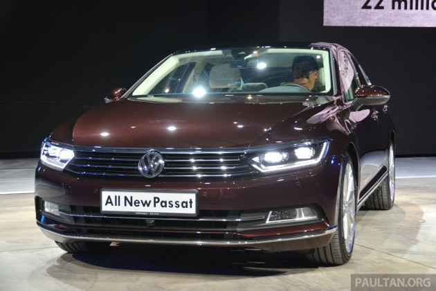 GALLERY: Volkswagen Passat B8 shown at Das Event