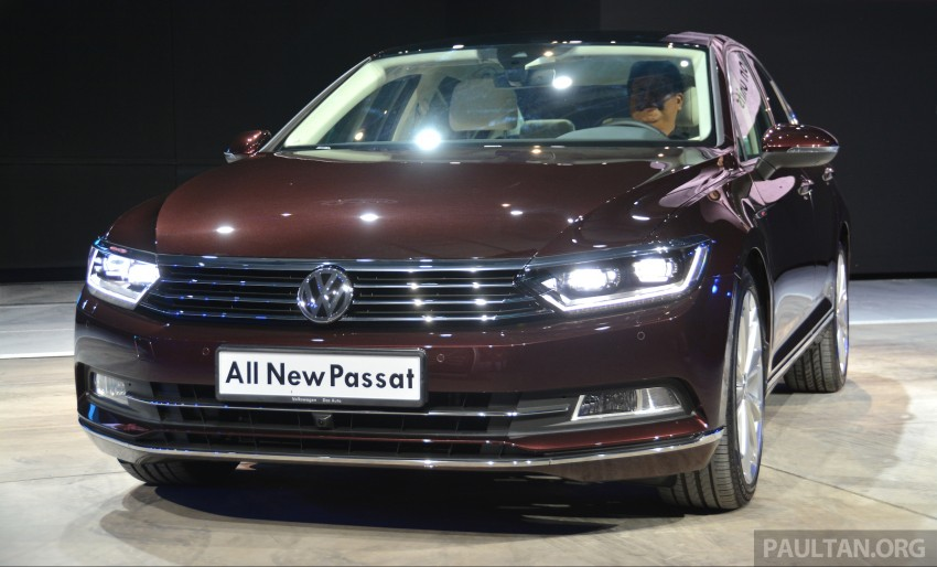GALLERY: Volkswagen Passat B8 shown at Das Event Image #294884