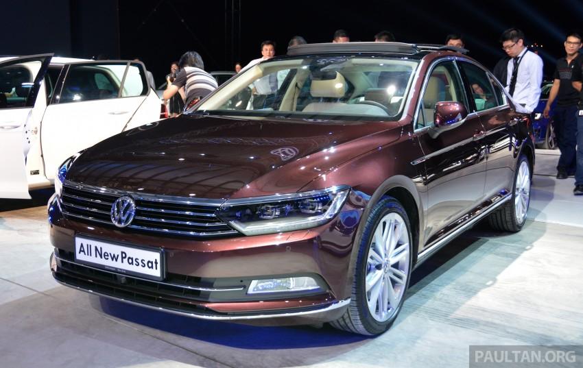GALLERY: Volkswagen Passat B8 shown at Das Event Image #294885