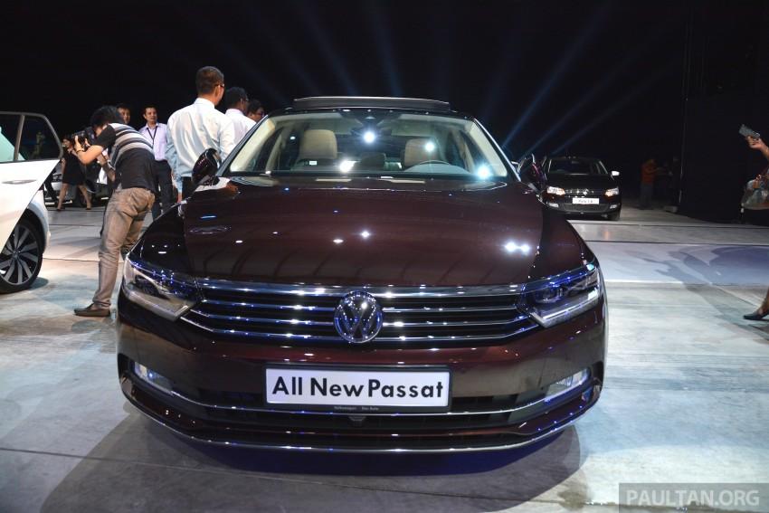 GALLERY: Volkswagen Passat B8 shown at Das Event Image #294886