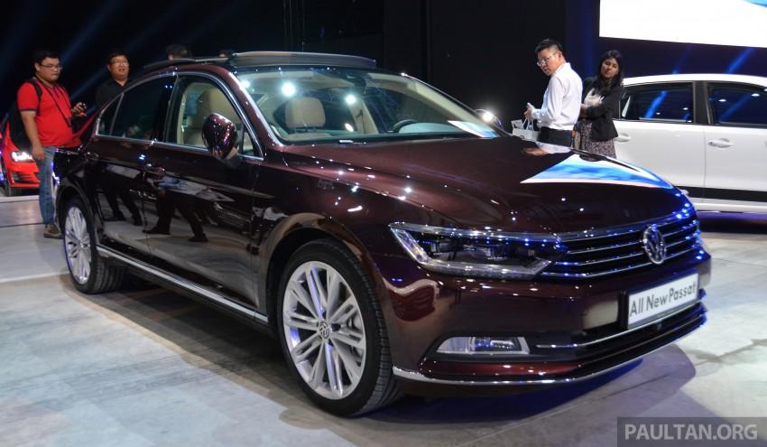 GALLERY: Volkswagen Passat B8 shown at Das Event Image #294887