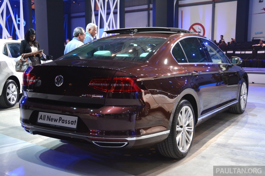 GALLERY: Volkswagen Passat B8 shown at Das Event Image #294888