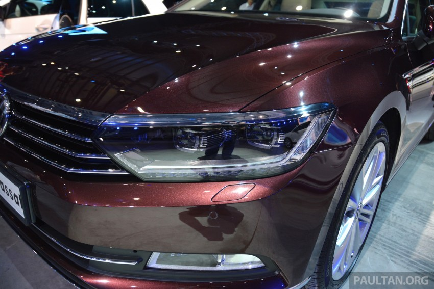 GALLERY: Volkswagen Passat B8 shown at Das Event Image #294889