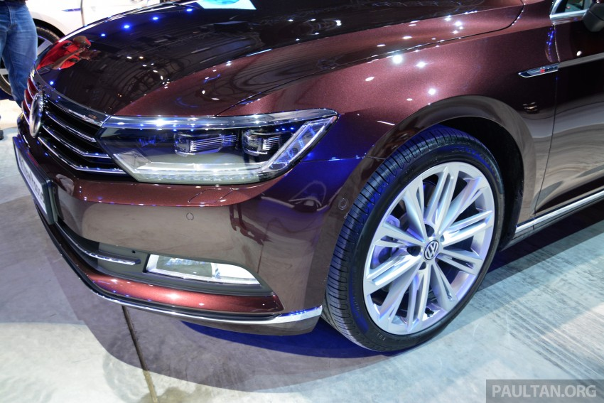 GALLERY: Volkswagen Passat B8 shown at Das Event Image #294890