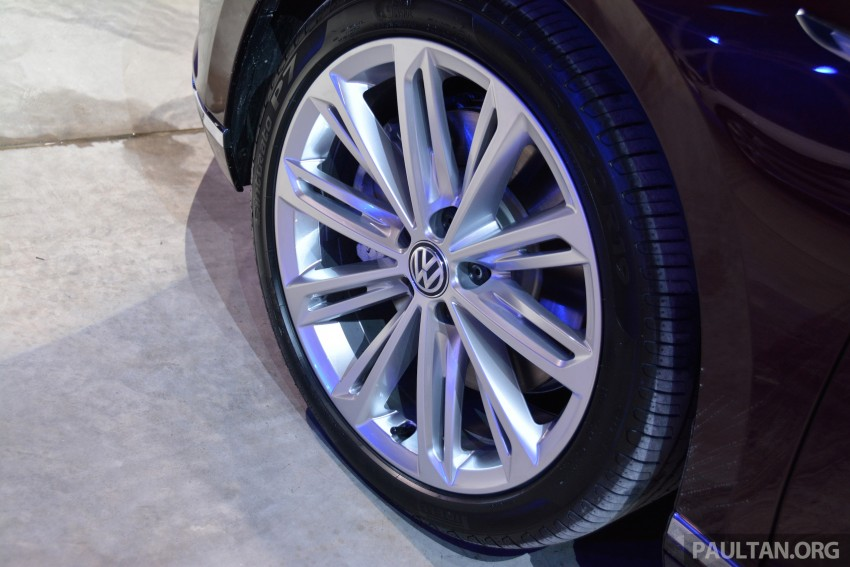 GALLERY: Volkswagen Passat B8 shown at Das Event Image #294891