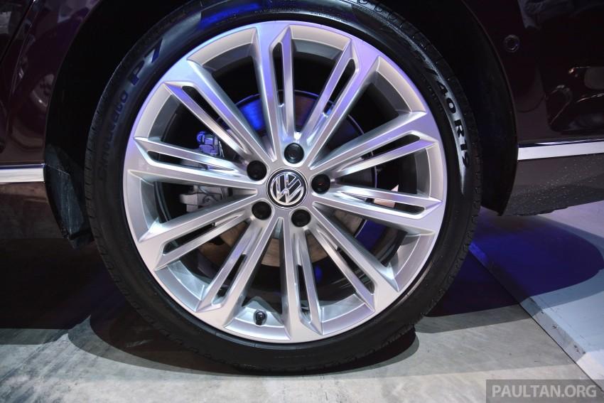 GALLERY: Volkswagen Passat B8 shown at Das Event Image #294892
