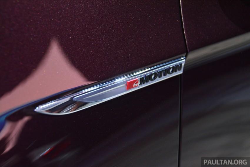 GALLERY: Volkswagen Passat B8 shown at Das Event Image #294893