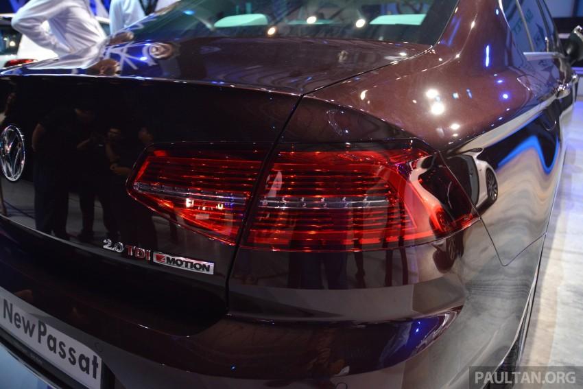GALLERY: Volkswagen Passat B8 shown at Das Event Image #294897