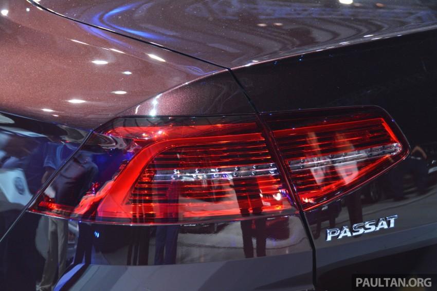 GALLERY: Volkswagen Passat B8 shown at Das Event Image #294898