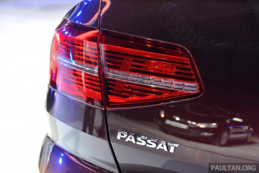 GALLERY: Volkswagen Passat B8 shown at Das Event Image #294899
