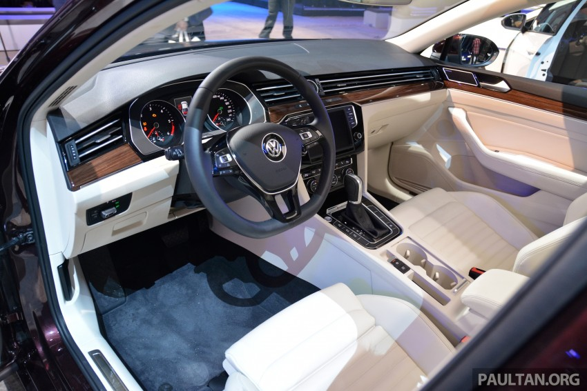 GALLERY: Volkswagen Passat B8 shown at Das Event Image #294900