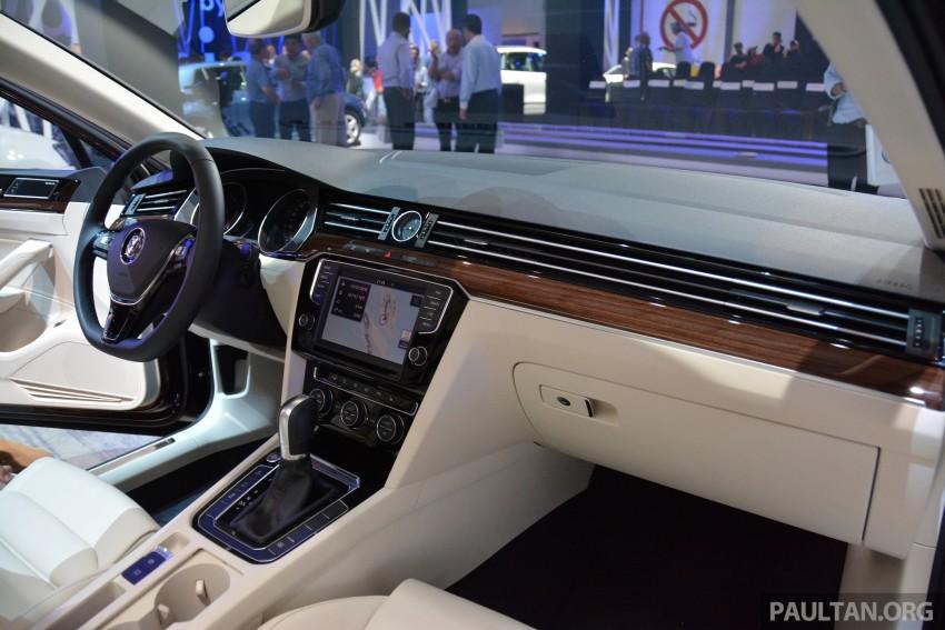 GALLERY: Volkswagen Passat B8 shown at Das Event Image #294902