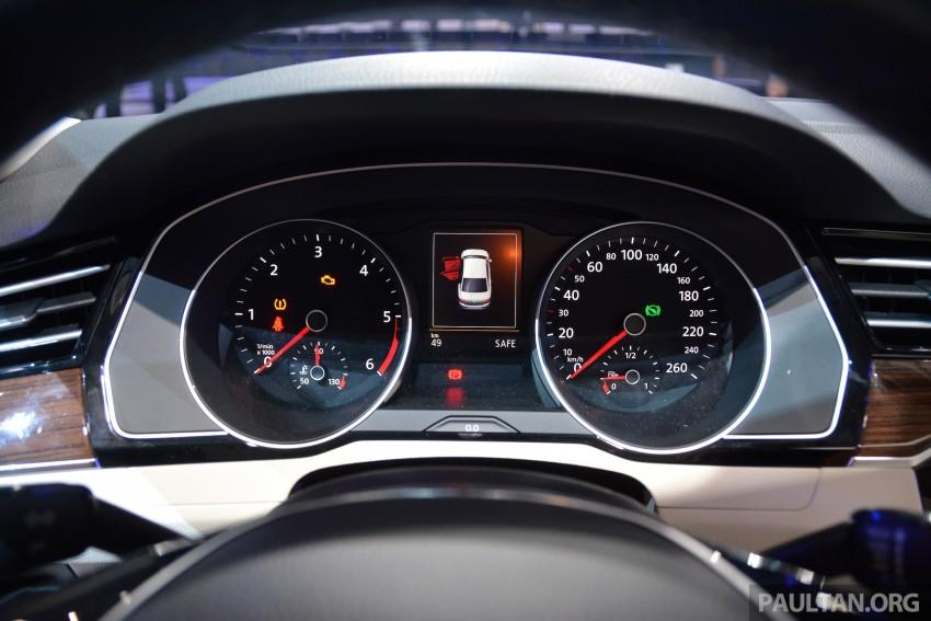GALLERY: Volkswagen Passat B8 shown at Das Event Image #294903