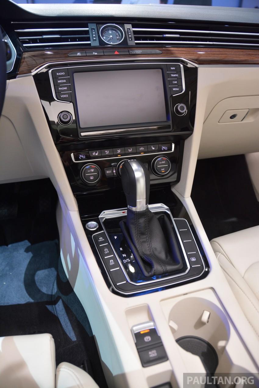GALLERY: Volkswagen Passat B8 shown at Das Event Image #294906