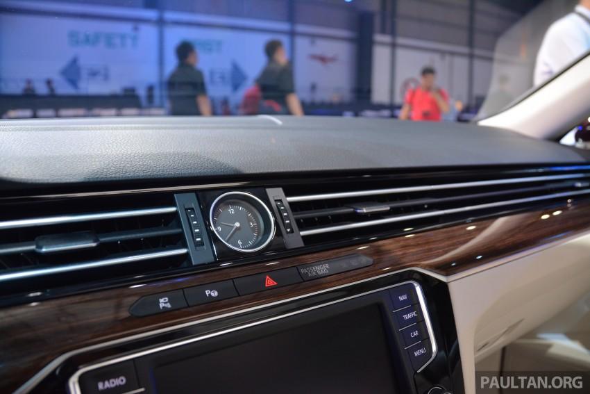 GALLERY: Volkswagen Passat B8 shown at Das Event Image #294907