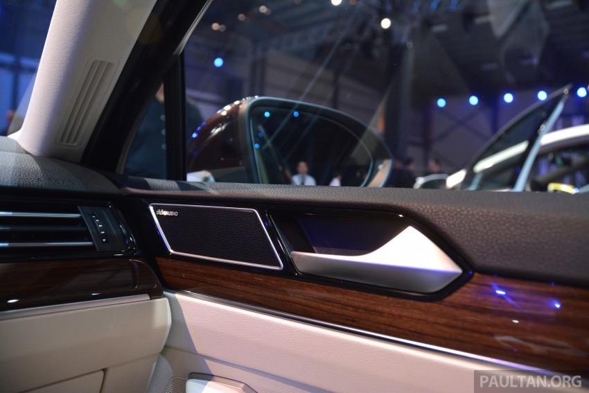 GALLERY: Volkswagen Passat B8 shown at Das Event Image #294908