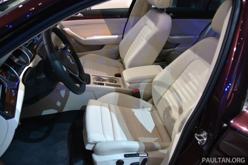 GALLERY: Volkswagen Passat B8 shown at Das Event Image #294909