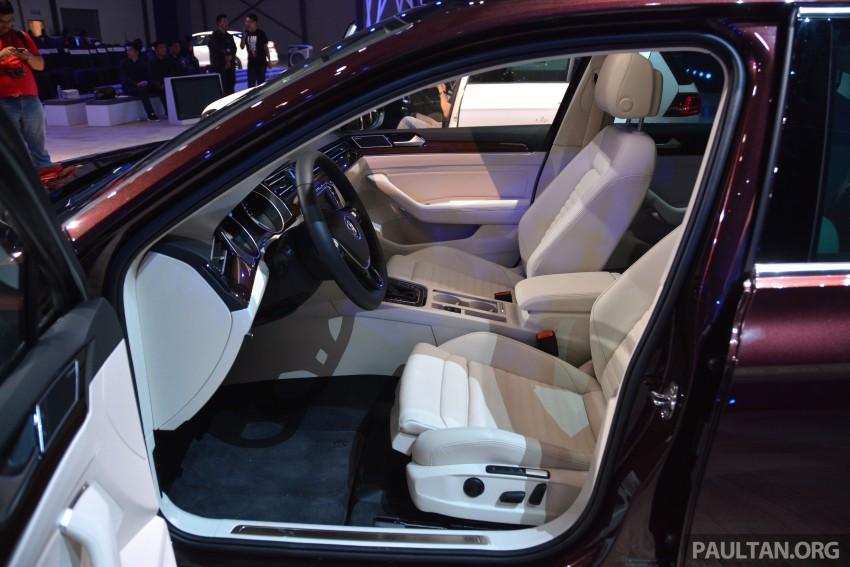 GALLERY: Volkswagen Passat B8 shown at Das Event Image #294910
