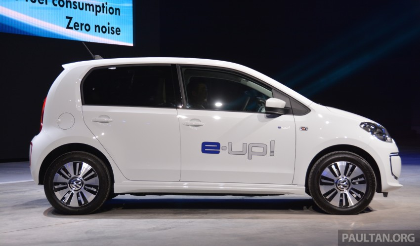 Volkswagen e-up! makes first appearance in Malaysia Image #294934