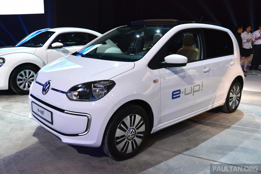 Volkswagen e-up! makes first appearance in Malaysia Image #294936
