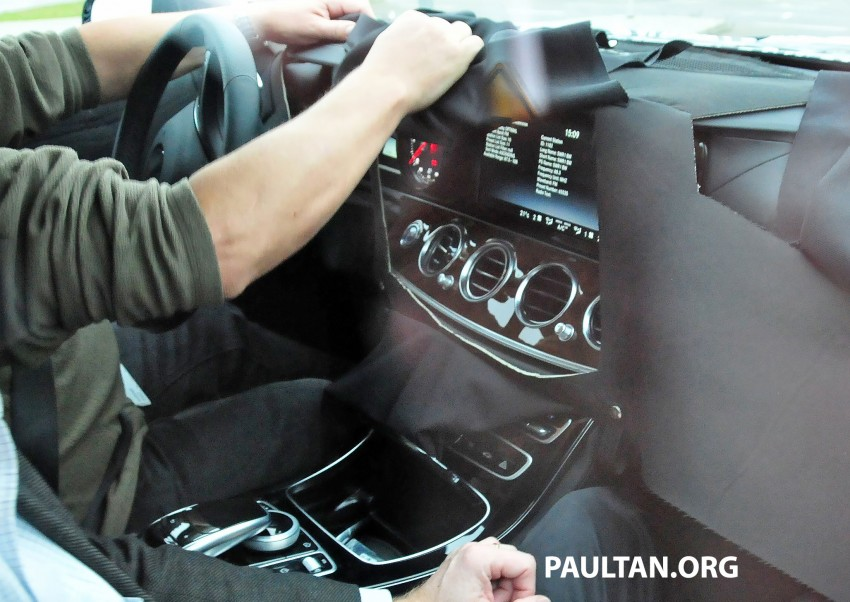 SPYSHOTS: Next-generation W213 Mercedes-Benz E-Class – a baby S-Class on the inside? Image #293264