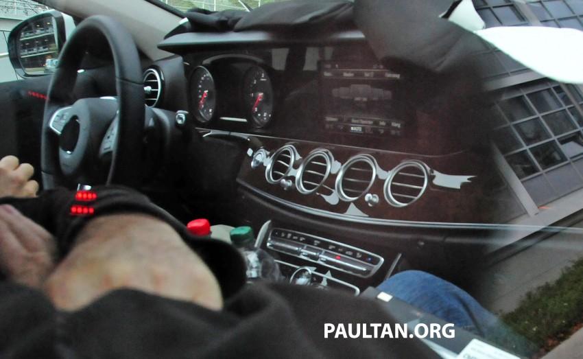SPYSHOTS: Next-generation W213 Mercedes-Benz E-Class – a baby S-Class on the inside? Image #293272