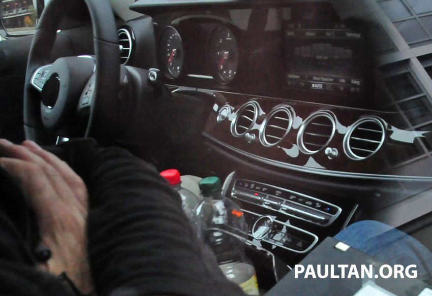 SPYSHOTS: Next-generation W213 Mercedes-Benz E-Class – a baby S-Class on the inside? Image #293273