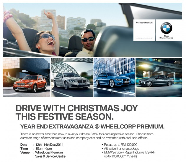 WP BMW-Christmas Year End Extravaganza