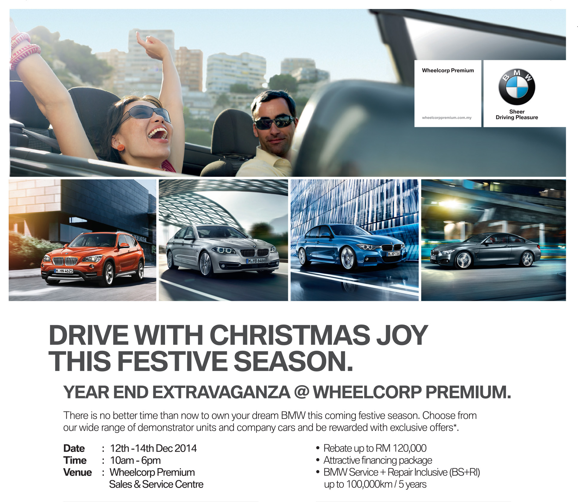 AD: Wheelcorp Extends Premium Christmas Joy With