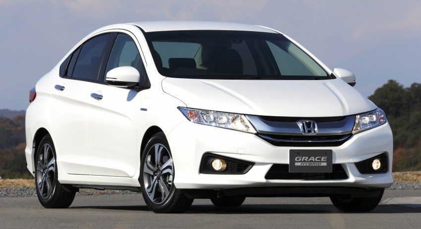 Honda Grace – JDM Honda City Hybrid on sale, RM56k Image #293049