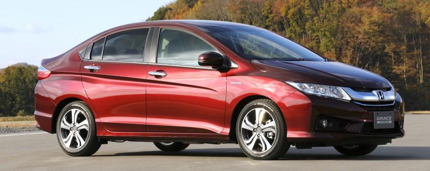 Honda Grace – JDM Honda City Hybrid on sale, RM56k Image #293026