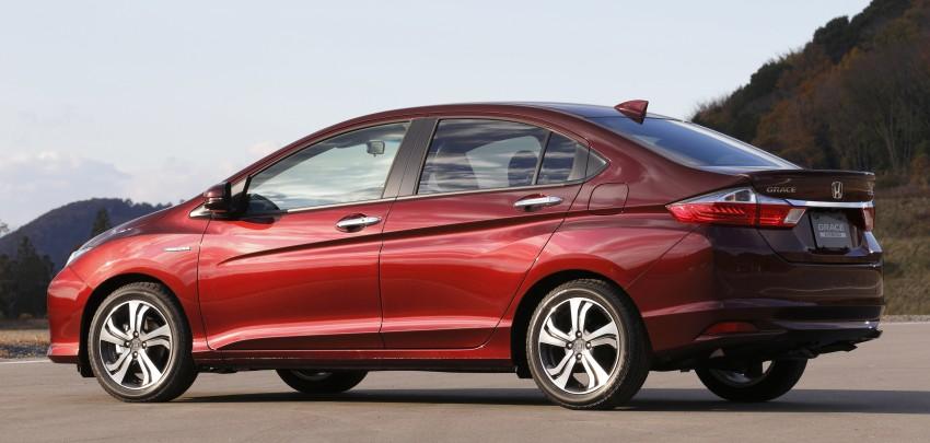 Honda Grace – JDM Honda City Hybrid on sale, RM56k Image #293051