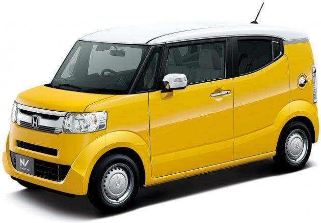honda n box slash chop top kei car on sale in japan. Black Bedroom Furniture Sets. Home Design Ideas