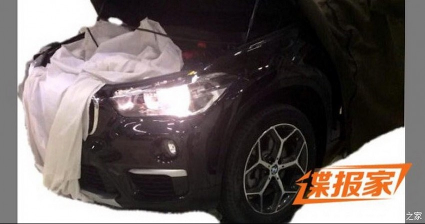 New BMW X1 – F48's front end spotted undisguised! Image #299170