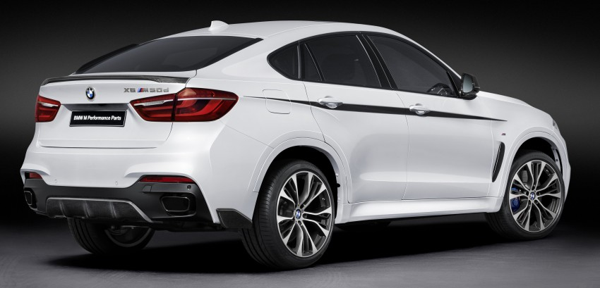 F16 BMW X6 gets BMW M Performance Parts range Image #294415