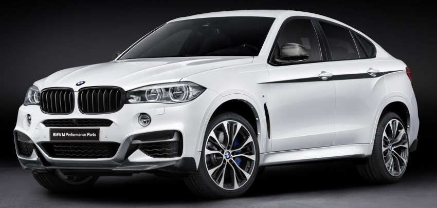 F16 BMW X6 gets BMW M Performance Parts range Image #294419