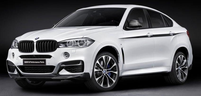 F16 BMW X6 gets BMW M Performance Parts range Image #294419