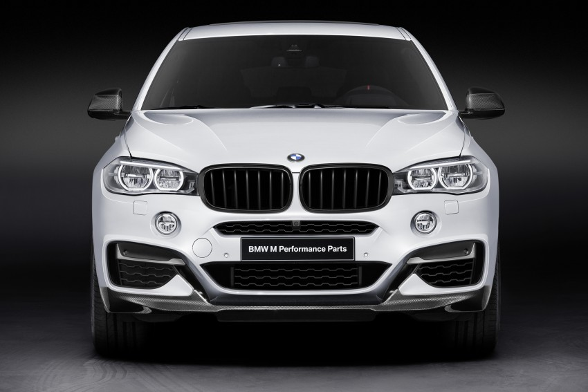 F16 BMW X6 gets BMW M Performance Parts range Image #294420