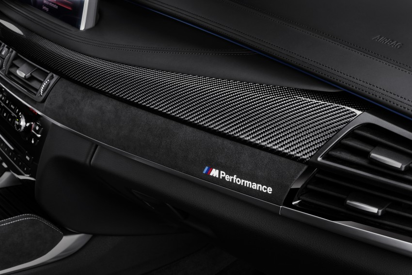 F16 BMW X6 gets BMW M Performance Parts range Image #294427