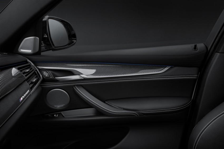 F16 BMW X6 gets BMW M Performance Parts range Image #294428