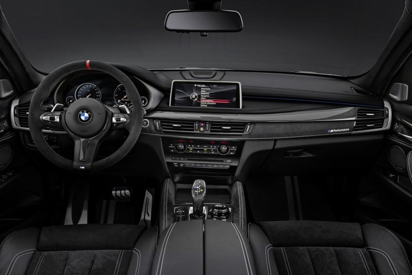 F16 BMW X6 gets BMW M Performance Parts range Image #294431