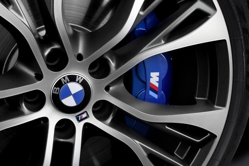 F16 BMW X6 gets BMW M Performance Parts range Image #294435
